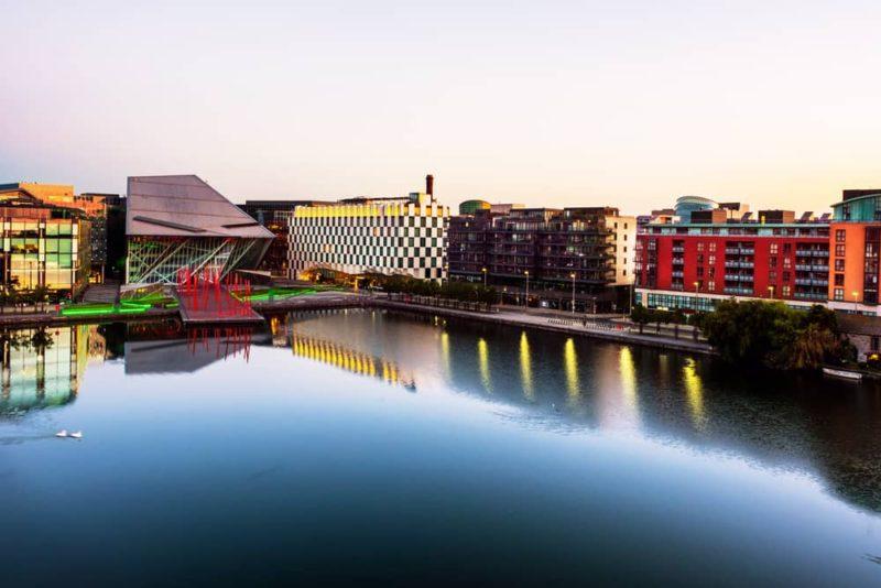 Grand-Canal-docks-in-Dublin